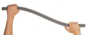 accessoire de train Rail Profi flexible 800mm (H0) carton de 10 Fleischmann Quirao idées cadeaux