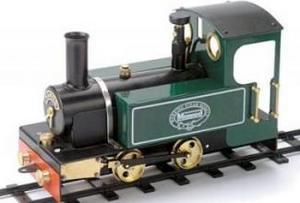 machine à vapeur Loco William échelle O Mamod Quirao idées cadeaux