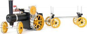 machine à vapeur Kit tracteur et remorque Mamod Quirao idées cadeaux