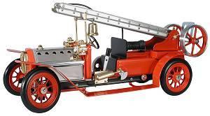machine à vapeur Kit camion pompiers Mamod Quirao idées cadeaux