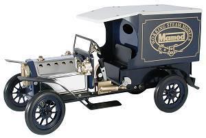 machine à vapeur Camion de livraison vert à vapeur Mamod Quirao idées cadeaux