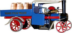 machine à vapeur Camion vapeur bleu Mamod Quirao idées cadeaux
