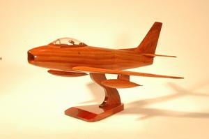 maquette d'avion North American F86 Sabre La Collection d'Avions Quirao idées cadeaux
