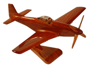 maquette d'avion North American P-51 Mustang La Collection d'Avions Quirao idées cadeaux