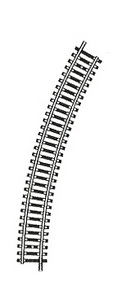 accessoire de train Rail Model courbe 30°  (H0)  6030 carton de 20 Fleischmann Quirao idées cadeaux