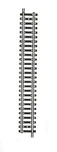 accessoire de train Rail Model droit 204mm  (H0) carton de 20 Fleischmann Quirao idées cadeaux