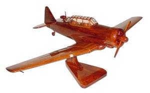 maquette d'avion North American T 6 - Texan La Collection d'Avions Quirao idées cadeaux