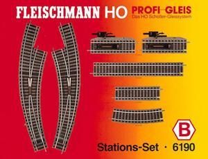 accessoire de train Set de rails Profi (H0)  6190 Fleischmann Quirao idées cadeaux