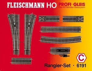 accessoire de train Set de rails Profi (H0)  6191 Fleischmann Quirao idées cadeaux