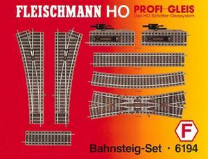 accessoire de train Set de quai  (H0)  6194 Fleischmann Quirao idées cadeaux
