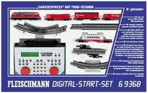 train miniature Start-set digital N   6 9368 Fleischmann Quirao idées cadeaux
