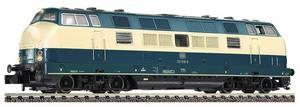train miniature Loco Diesel 221 DB 1975  (échelle N) Fleischmann Quirao idées cadeaux