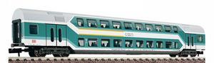 train miniature Voiture 2 niveaux 1/2e classe  (échelle N) Fleischmann Quirao idées cadeaux