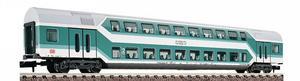 train miniature Voiture 2 niveaux 2e classe  (échelle N) Fleischmann Quirao idées cadeaux