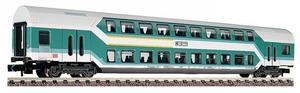 train miniature Voiture à 2 niveaux 1/2 cl  (échelle N) Fleischmann Quirao idées cadeaux
