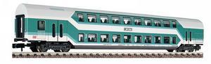 train miniature Voiture à 2 niveaux 2 cl  (échelle N) Fleischmann Quirao idées cadeaux