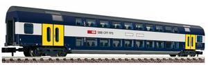 train miniature Voiture à 2 niveaux ccf  (échelle N) Fleischmann Quirao idées cadeaux