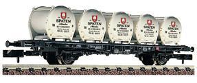 train miniature Wagon Spatenbrau  (échelle N) Fleischmann Quirao idées cadeaux