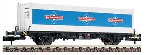 train miniature Wagon porte-containers  (échelle N) Fleischmann Quirao idées cadeaux