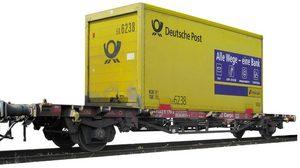 train miniature Wagon germ post  (échelle N) Fleischmann Quirao idées cadeaux