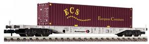 train miniature Wagon containers  (échelle N) Fleischmann Quirao idées cadeaux