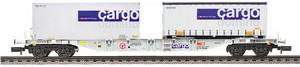 train miniature Wagon car domino  (échelle N) Fleischmann Quirao idées cadeaux