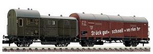 train miniature Wagons jumelés  (échelle N)  8305 Fleischmann Quirao idées cadeaux