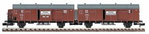 train miniature Wagons jumelés  (échelle N)  8306 Fleischmann Quirao idées cadeaux