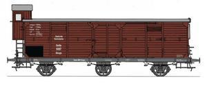train miniature Wagon couvert  (échelle N) Fleischmann Quirao idées cadeaux