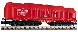 train miniature Wagon panneaux télescopiques.  (échelle N) Fleischmann Quirao idées cadeaux