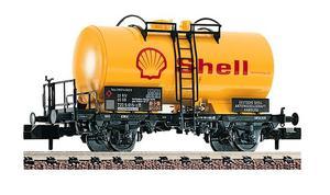 train miniature Wagon citerne shell  (échelle N) Fleischmann Quirao idées cadeaux