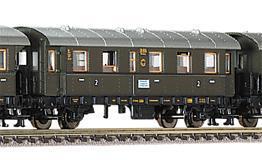 train miniature Voiture 2e classe  (échelle N)  848851 Fleischmann Quirao idées cadeaux