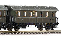 train miniature Voiture 3 classe  (échelle N)  848853 Fleischmann Quirao idées cadeaux