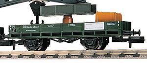 train miniature Wagon protect. flêche grue  (échelle N) Fleischmann Quirao idées cadeaux