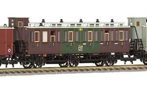 train miniature Wagon, 3-ax (HO) Fleischmann Quirao idées cadeaux