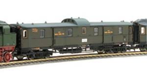 train miniature Fourgon bagages  (HO) Fleischmann Quirao idées cadeaux