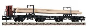 train miniature Wagon transport bois  (échelle N) Fleischmann Quirao idées cadeaux