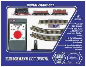 train miniature Start-set digital train vapeur Fleischmann Quirao idées cadeaux