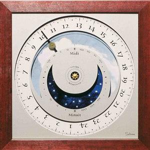 horloge Horloge du soleil - Bali Soltime Quirao idées cadeaux
