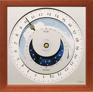 horloge Horloge du soleil - British Soltime Quirao idées cadeaux