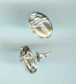 promotion sur Boucles d'oreilles Scarabée -  OP - Argent