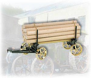 machine à vapeur A426 - Chariot avec chargement de bois Wilesco Quirao idées cadeaux