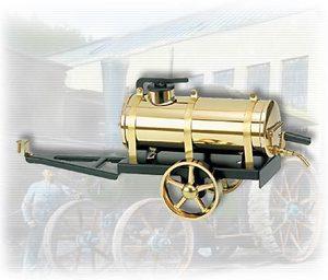machine à vapeur A386 - Citerne arroseuse noir / laiton Wilesco Quirao idées cadeaux