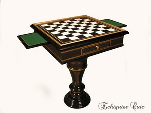 table d 39 checs prestige. Black Bedroom Furniture Sets. Home Design Ideas