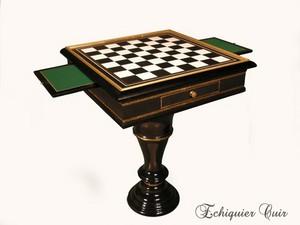 table d 39 checs prestige. Black Bedroom Furniture Sets. Home Design Ideas
