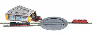 accessoire de train Plaque tournante manuelle  (échelle N) Fleischmann Quirao idées cadeaux