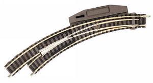 accessoire de train Aiguillage courbe gauche cmdé  (échelle N) Fleischmann Quirao idées cadeaux