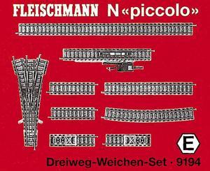 accessoire de train Set de rail  (échelle N)  9194 Fleischmann Quirao idées cadeaux