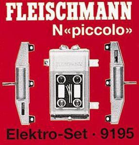 accessoire de train Set aiguillage électrique  (échelle N) Fleischmann Quirao idées cadeaux