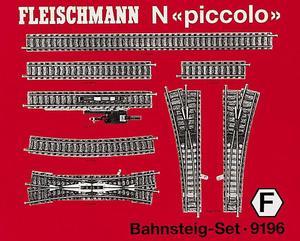 accessoire de train Set de rails  (échelle N) Fleischmann Quirao idées cadeaux